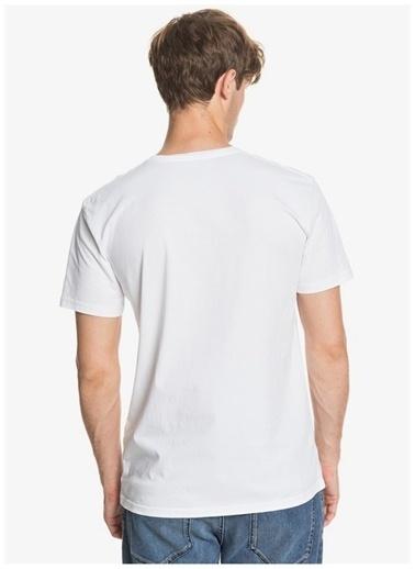 Quiksilver Quiksilver T-Shirt Beyaz
